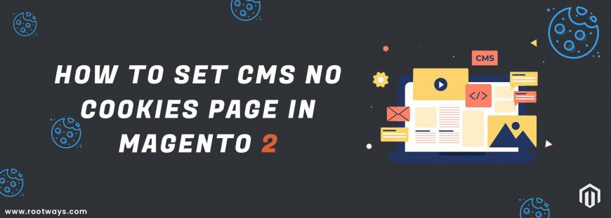 How to set CMS No Cookies Page in Magento 2
