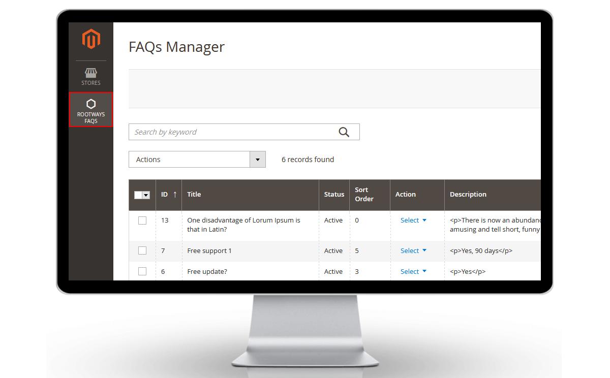 Magento 2 FAQ Extension