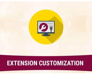 Extension customization