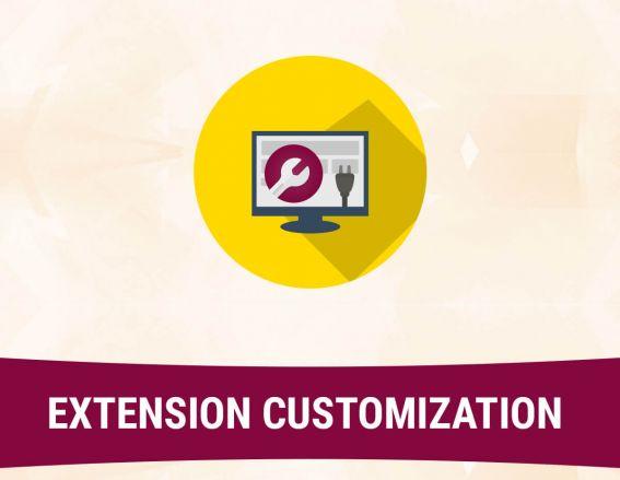 Customization of Magento Extension