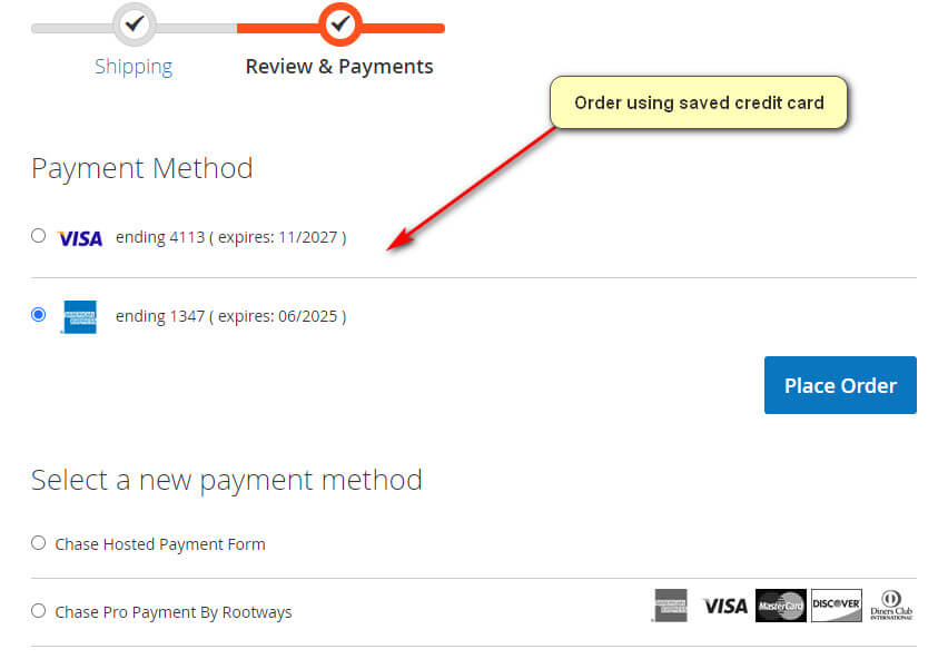 Magento 2 Payment Extension