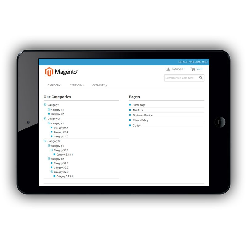 Sitemap Extension for Magento