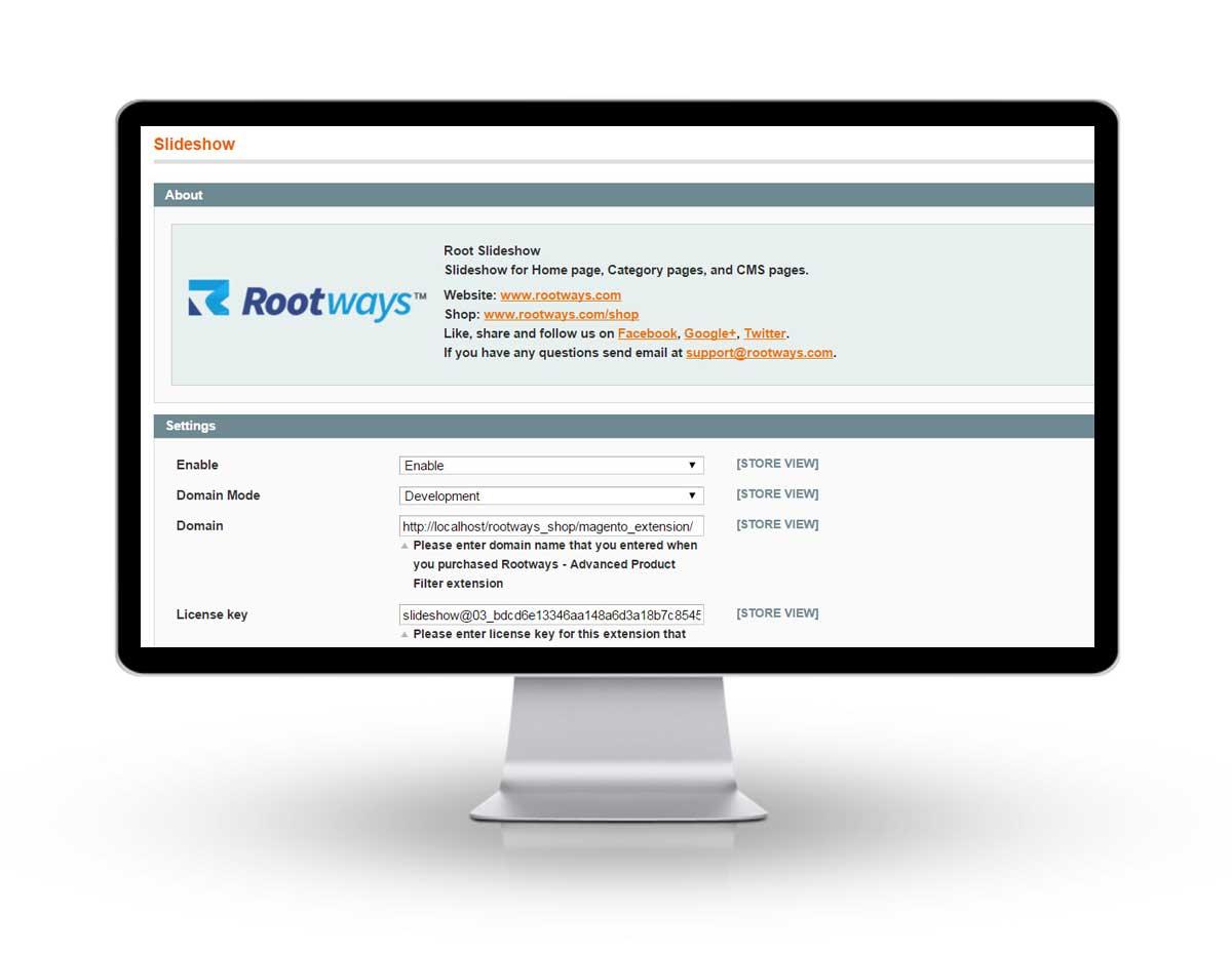 Rootways image slideshow extension