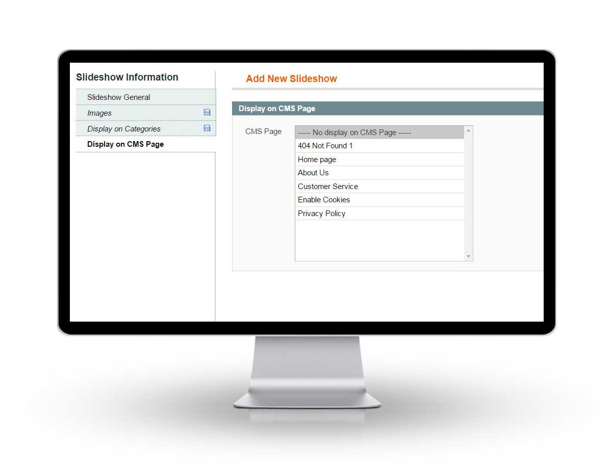 Magento Responsive Dynamic Slideshow Extension