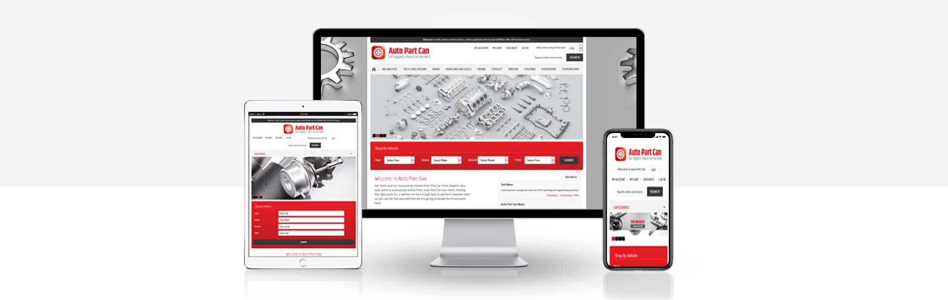 Magento online Car Accessories website