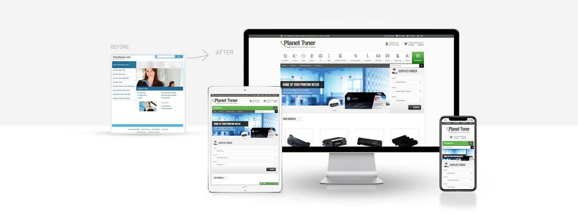 Magento cartridge website