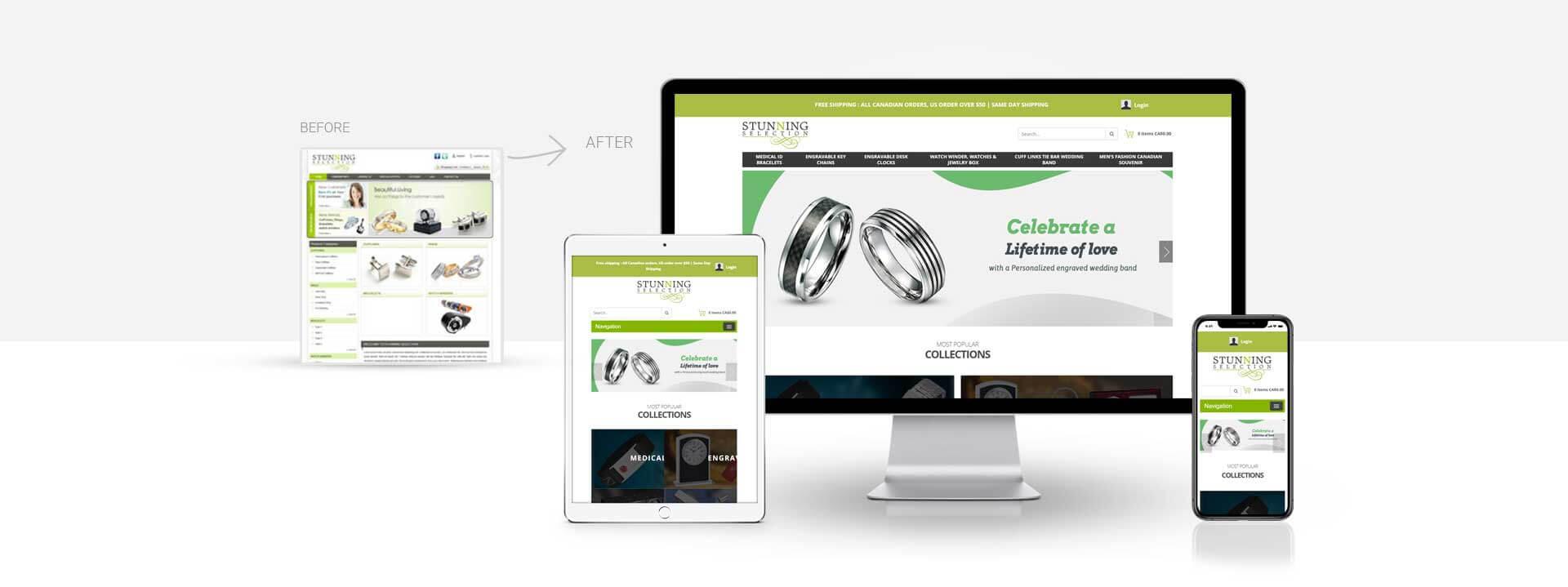 Magento Ecommerce fashion accessories website