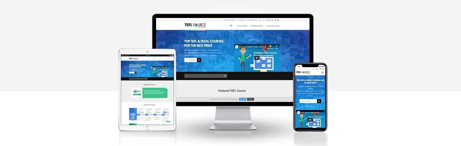 Ecommerce online study courses website