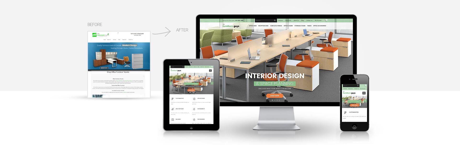 Magento Furniture Website