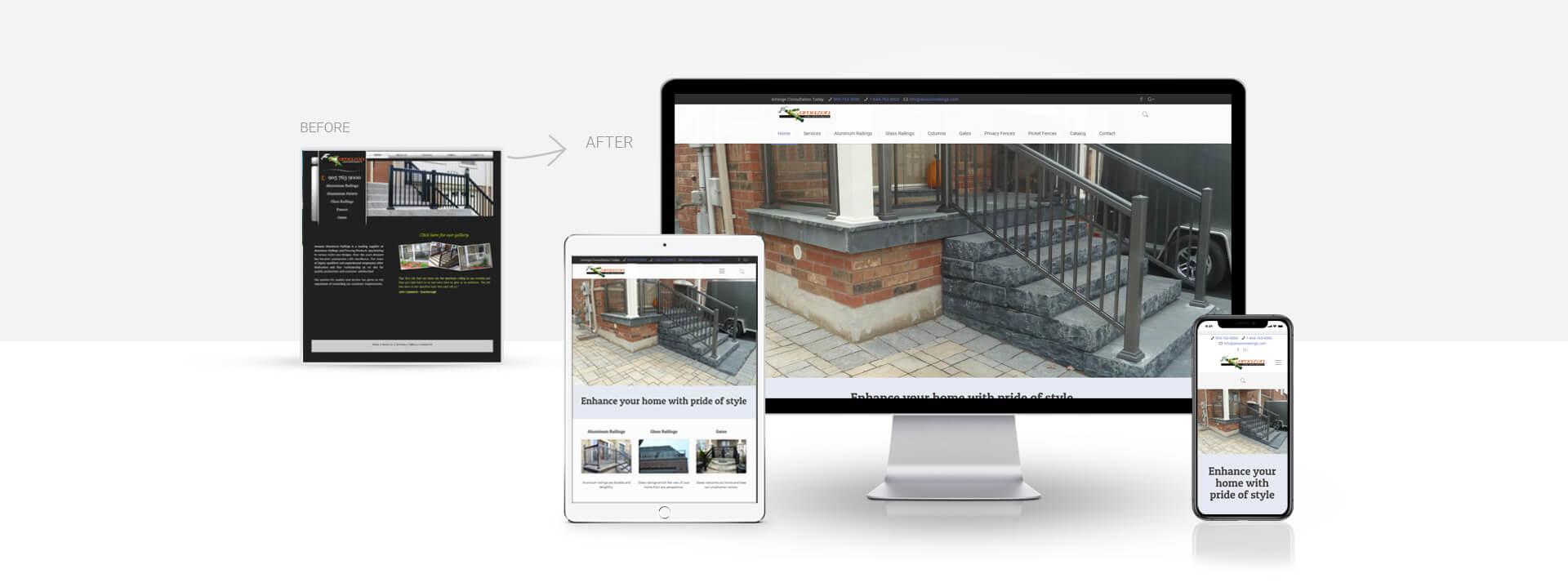 Wordpress Home Improvement Services website
