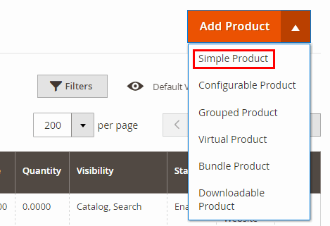 magento 2 simple product ss2