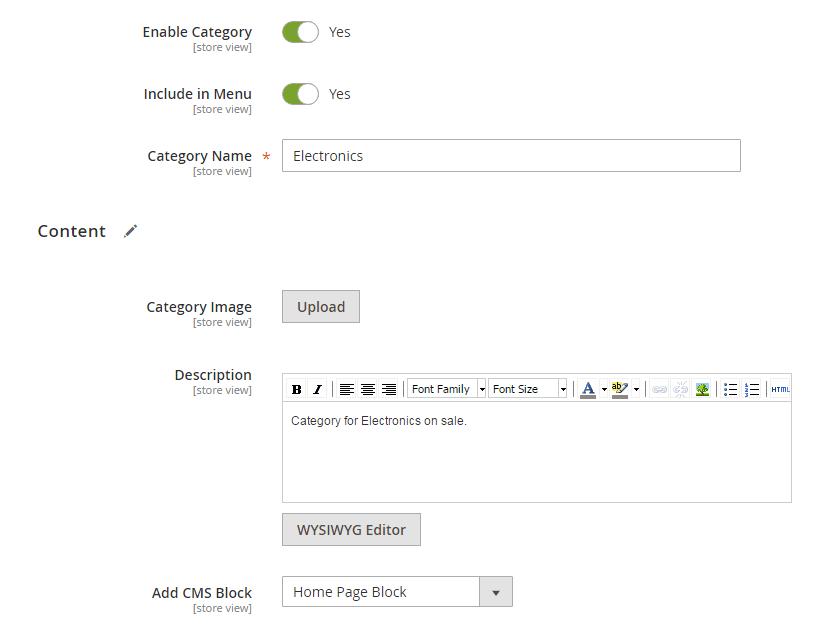 Magento 2 add category ss3