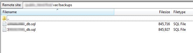 magento 2 database