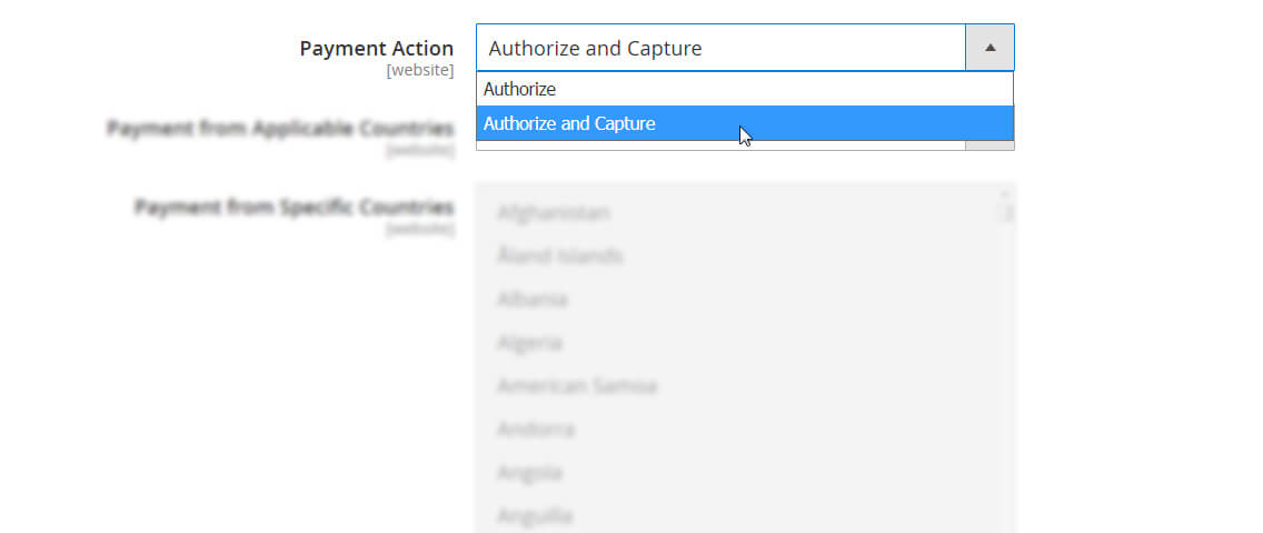 Magento Authorize.net Extension
