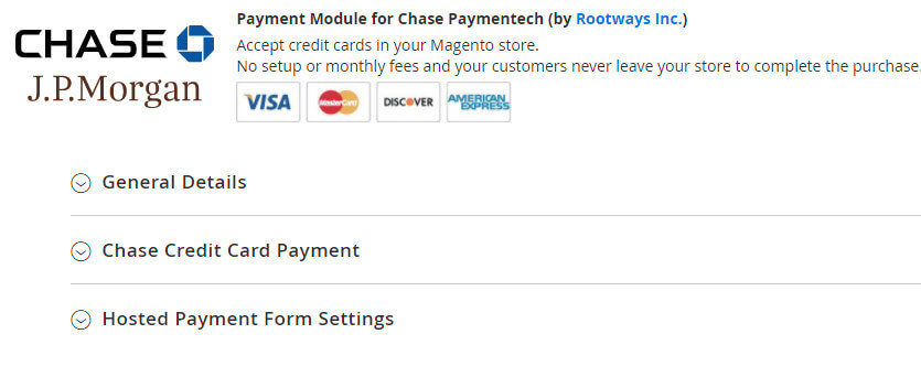 Magento Chase Extension