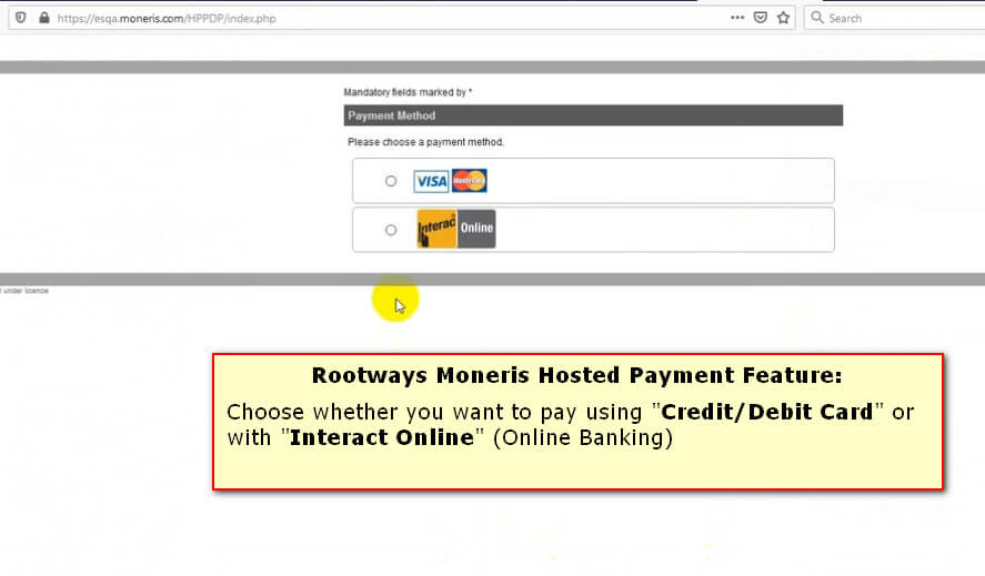 Moneris Hosted Payment