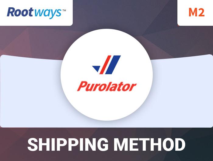 Magento 2 Purolator Shipping Extension