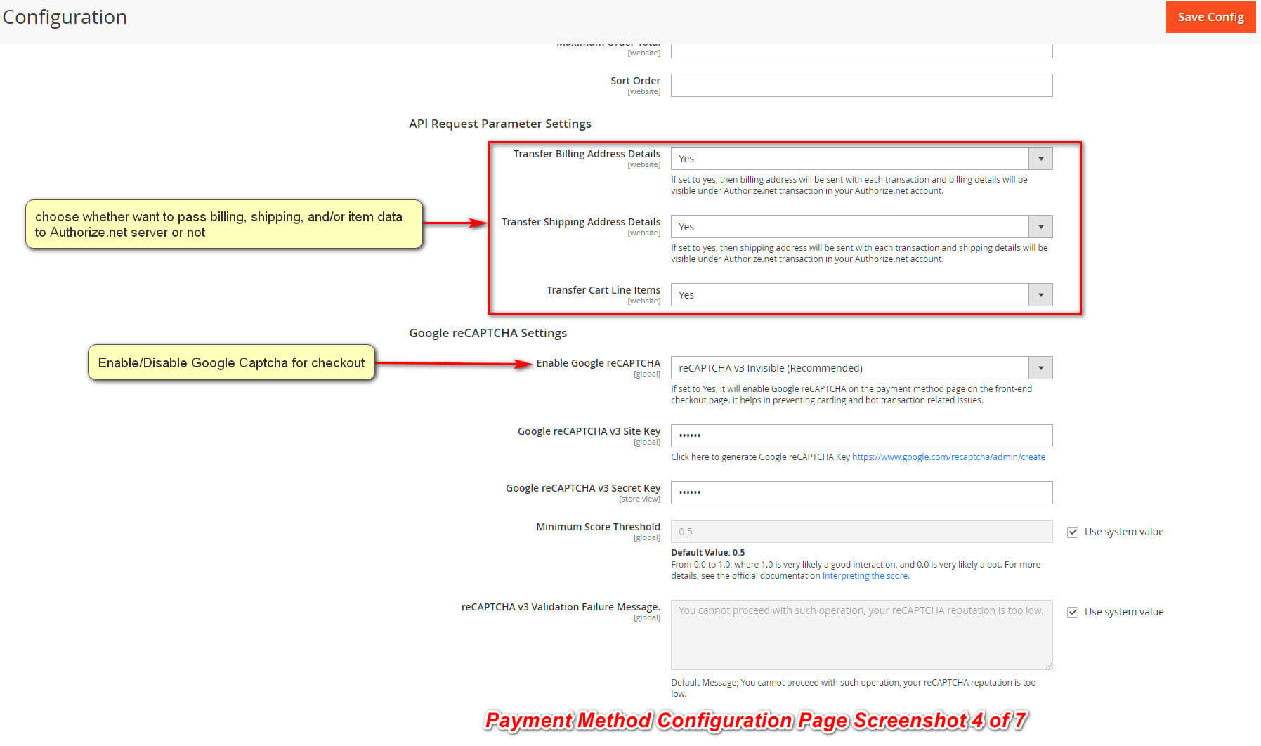 Magento 2 Authorize.net Payment