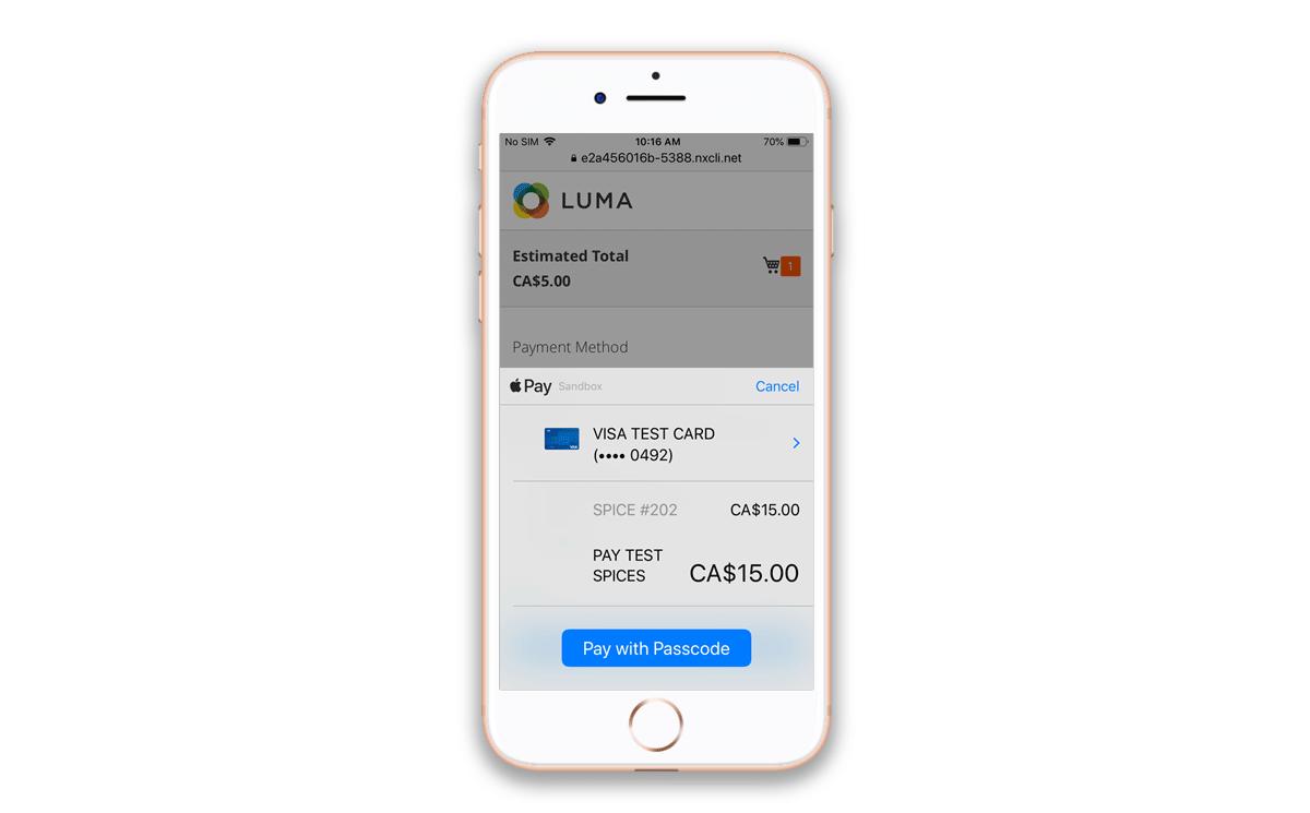 Magento 2 Authorize.net CIM Extension - Apple Pay