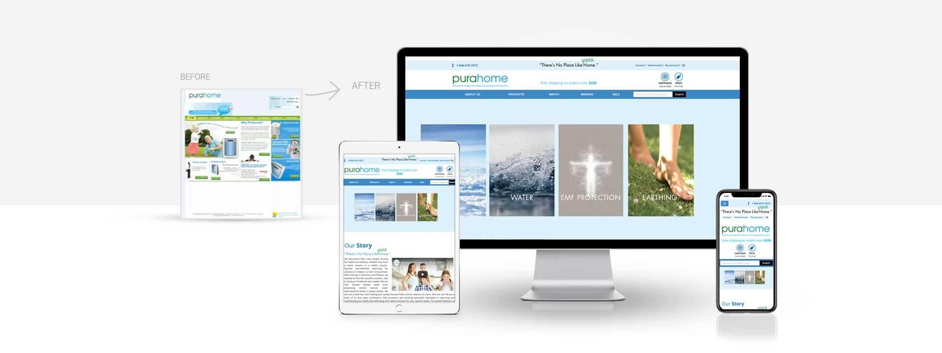 Magento Air Water Purifier seller website