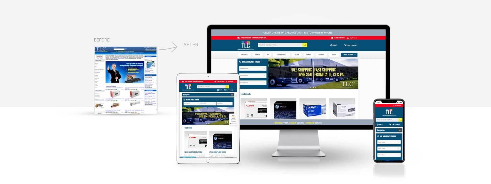 Magento toner cartridge website
