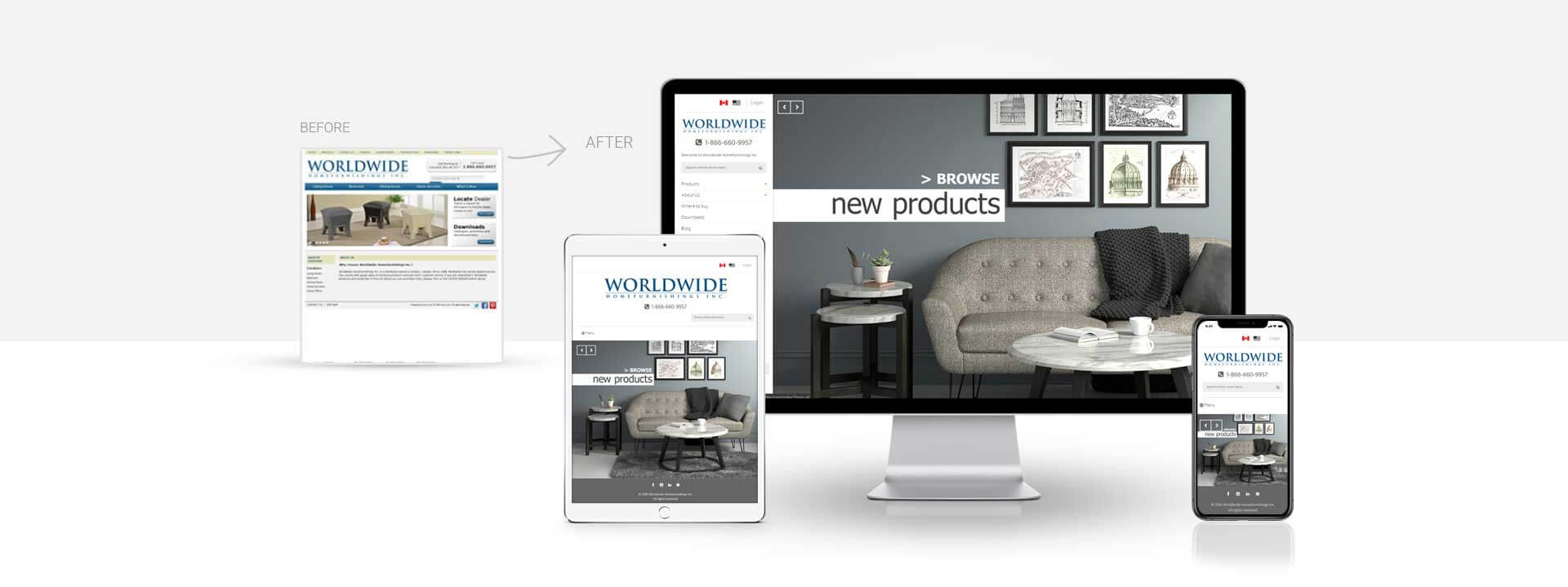 Magento online home decor shop website