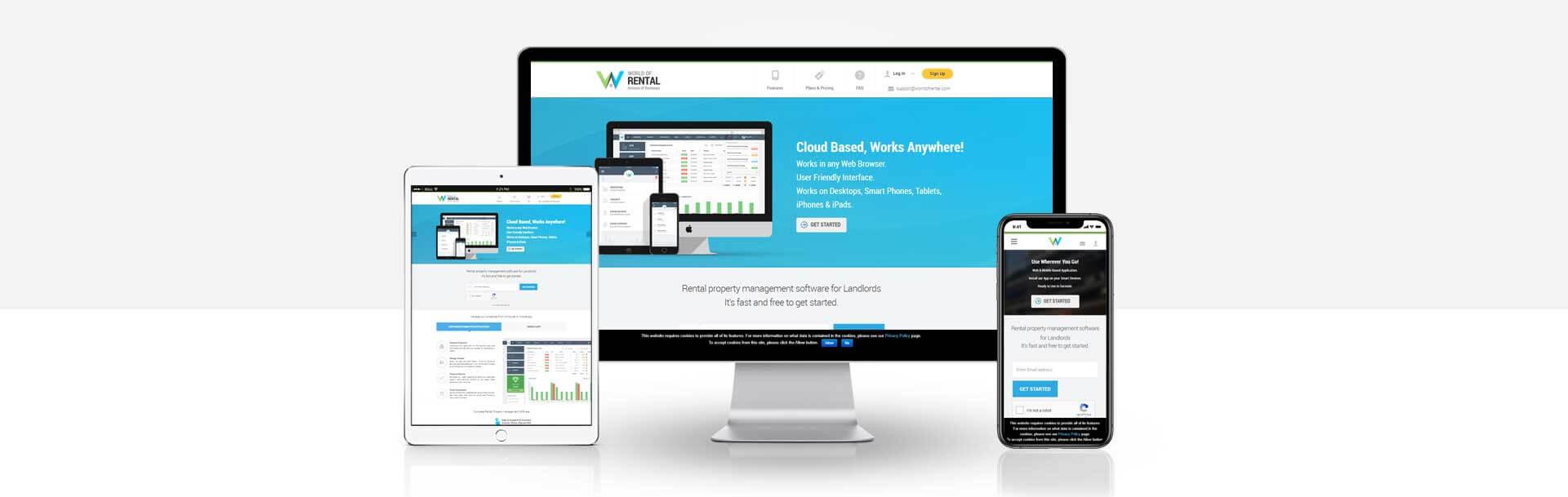 Wordpress Rental Property Management Website