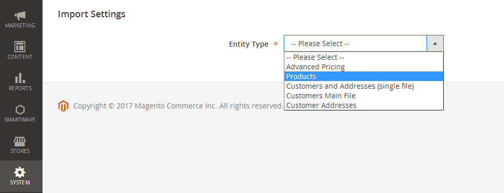 magento 2 product import2